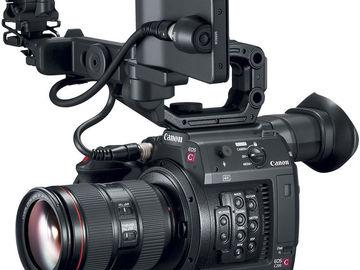 Rent: Canon C200 with 24-105mm IS II USM lens, Tripod, 2x256GB CFA