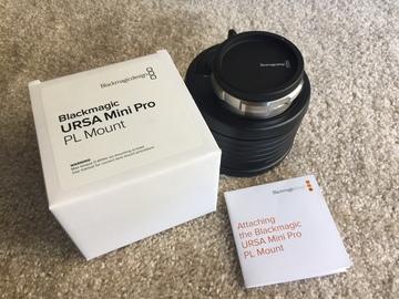 Rent: Blackmagic URSA Mini Pro PL (MOUNT ONLY)