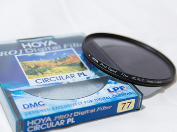 Rent: 77mm Hoya Pro1 Cicular Polarizer Filter