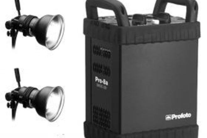 Profoto 8A Pack with 2-Head Kit