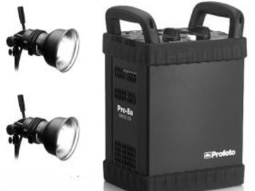 Rent: Profoto 8A Pack with 2-Head Kit