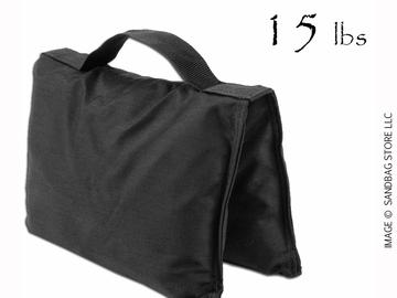 Rent: (2) 15lb Saddle Sandbags