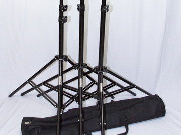 Rent: Light Stand Kit of (3)