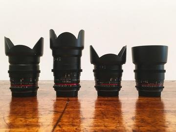 Rokinon Cine DS Lens Kit (EF Mount)