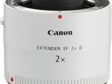 Rent: Canon Extender EF 2x III