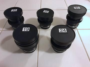 Rent: Leica R Lens Prime Set