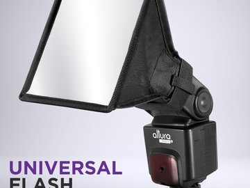 "Rent: Flash Diffuser Light Softbox 6""x5"" for Nikon & Canon Flashes"