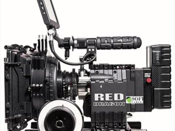 Rent: RED FULL DRAGON HANDHELD PACKAGE W LENSES