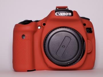 Canon EOS 80D with Silicon Protective Case