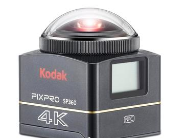 VR 360 Rig: Kodak SP360 (both Cameras and Rig)