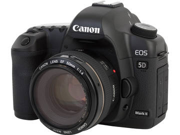 Canon 5D Mark II ( 50mm Lens, 3 Batteries, 3 Memory Cards)
