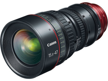 Canon CN-E 15.5-47mm T2.8 L S (PL or EF Mount)