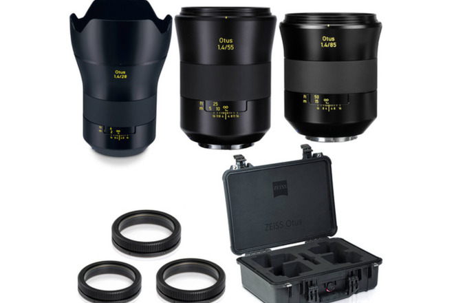 Zeiss Otus Lens Set