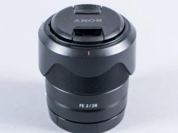 Rent: Custom E-Mount Lens Kit - 28mm, 35mm, 85mm