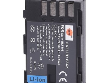 Rent: Generic BLF19 battery for GH4 and GH5 cameras