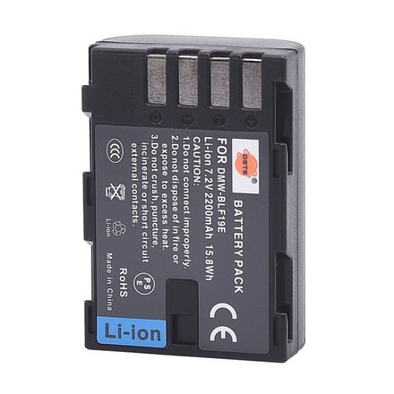Generic BLF19 battery for GH4 and GH5 cameras