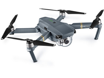 Rent: DJI Mavic Pro Fly More Combo w/3 Batteries