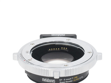 Rent: Metabones EF - E mount T Cine Speed Booster