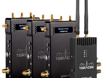Rent: Teradek Bolt 600 HDMI/SDI (1 Transmitter, 3 Receivers)