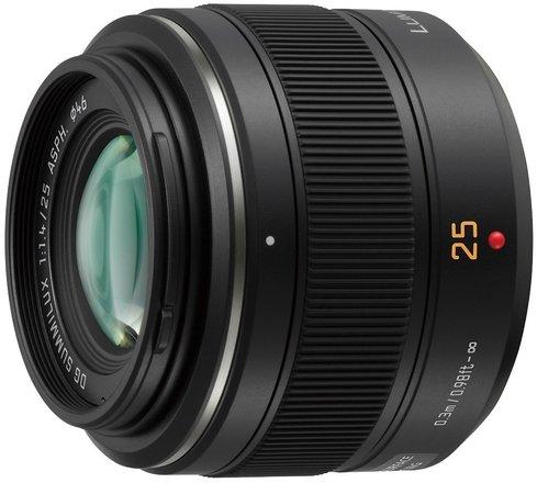 Pansonic Lumix Leica Summilux Lens 25MM F1.4