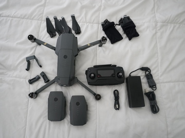 Rent: DJI Mavic Pro + Fly More Combo