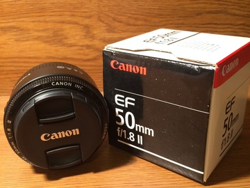 Rent: Canon 50mm f/1.8 Prime lens