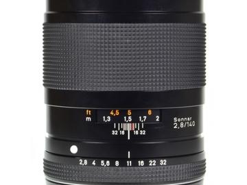 Rent: Contax 645 - 140mm f/2.8