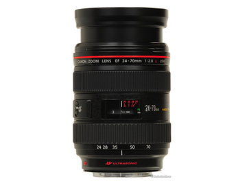 Rent: Canon EF 24-70mm f/2.8 L USM Lens (2 Available)