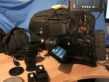 Rent: Blackmagic URSA Mini 4.6K w/VA 4K Documentary Pkg