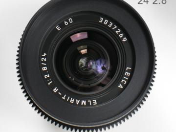 Leica R Summilux 24mm 2.8