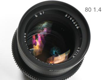Leica R Summilux 80mm 1.4