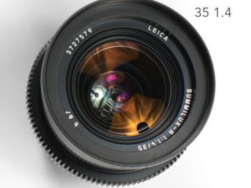 Leica R Summilux 35mm 1.4