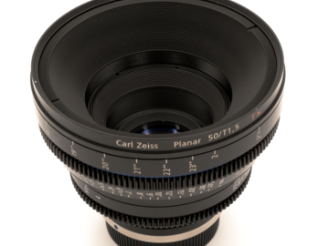 "Rent: ZEISS CP.2 50mm T 1.5 ""Superspeed"""