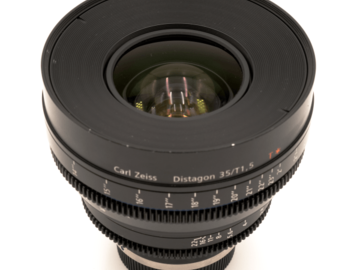 "Rent: ZEISS CP.2 35mm T 1.5 ""Superspeed"""