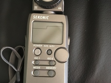 Rent: Sekonic Flashmeter L-358