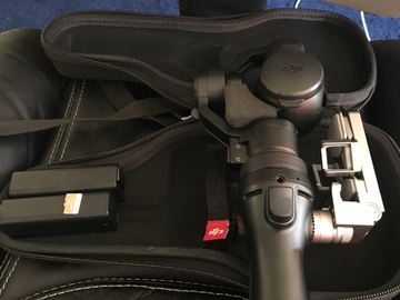 Rent: DJI Osmo 4K/ 2 Batteries/ 32Gb Micro SD