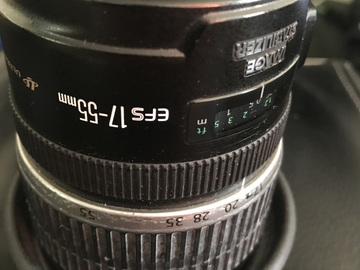 Rent: Canon EF-S 17-55mm f/2.8 IS USM/UV Protector