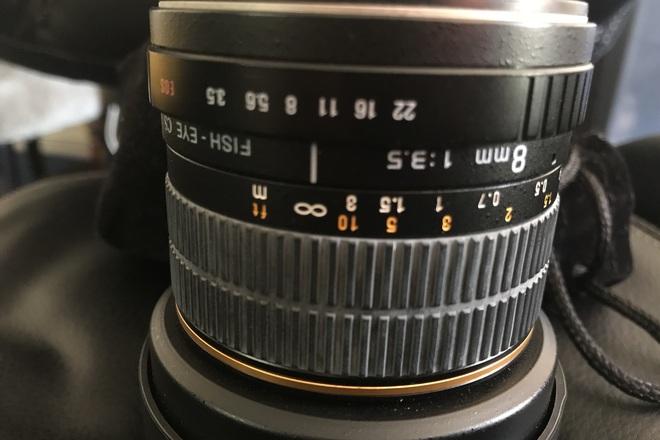 Rokinon 8mm f3.5 Fisheye