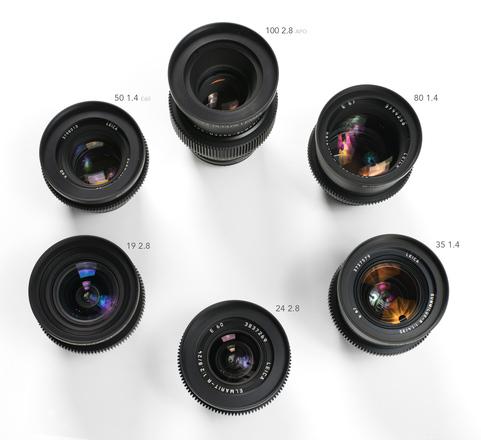 Leica R Summilux 6-lens kit