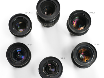 Rent: Leica R Summilux 6-lens kit