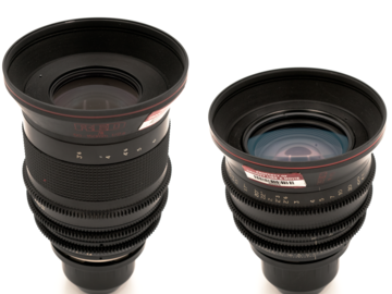 Rent: RED 2-Lens Zoom Kit Covering 18-150 at f/2.8