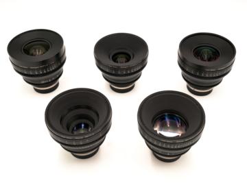Zeiss  5-Lens Compact Prime CP.2 Set