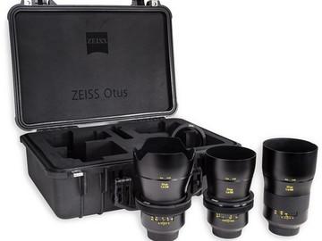 Rent: Zeiss Otus Lens Bundle