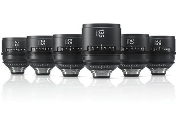 Rent: Sony CineAlta 4K Primes Lens Set