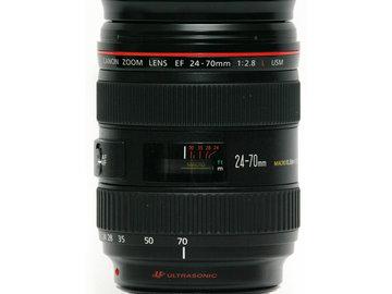 Rent: Canon 24-70 L series lens