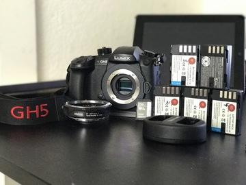 Rent: Panasonic GH5 + extras