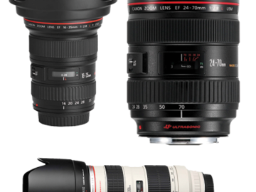 Rent: Canon Zoom Lens Set