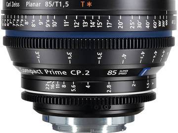 Rent: Zeiss Compact Prime CP.2 85mm T1.5 Super Speed
