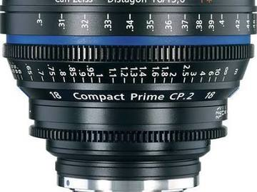 Rent: Zeiss Compact Prime CP.2 18mm T3.6