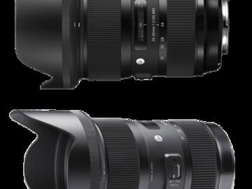 Rent: Sigma Zoom Lens Set